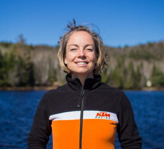 Dominique Lefebvre - guide et coordonnatrice de séjours chez Rando Raid Canada