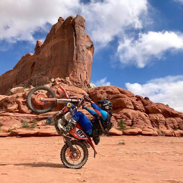 Enduro KTM Trail moto aux USA - Utah - Rando Raid Canada