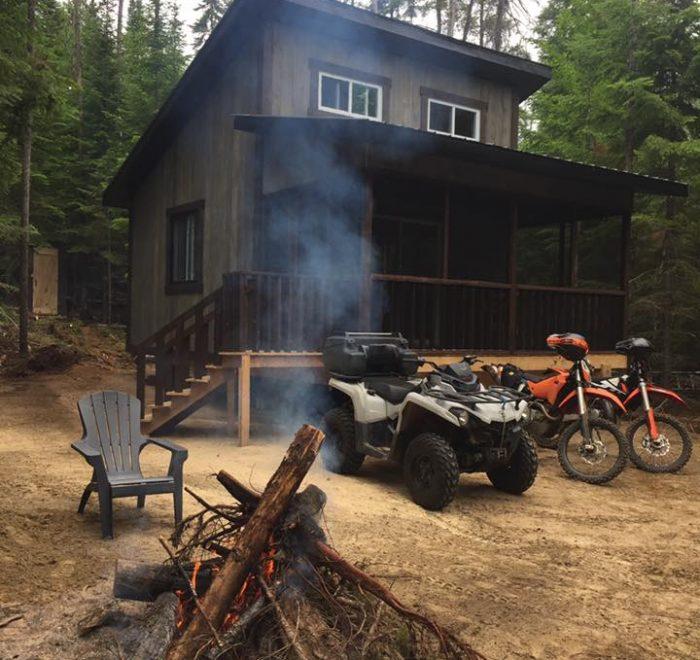 Refuge Amisk Aventure - Moto et quad