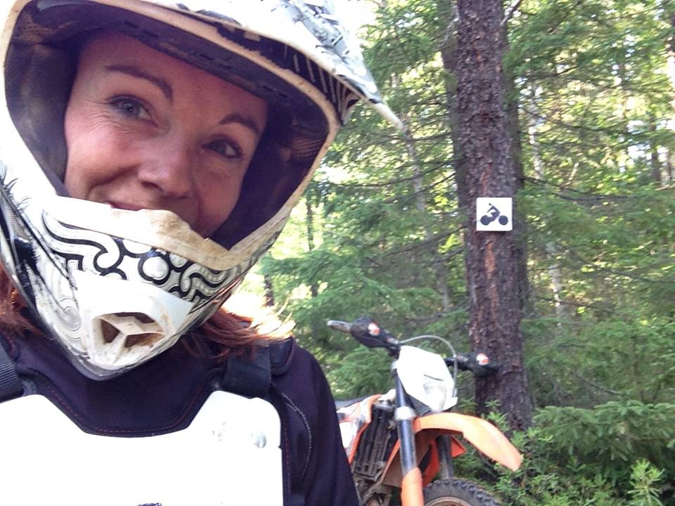 Enduro KTM Trail moto aux USA - Rando Raid Canada Dominique