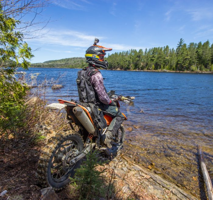 Rando Raid Canada - Rando à moto enduro dans la trail au Québec