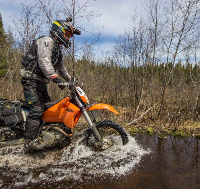 Zone inondée - Rando dans les trails