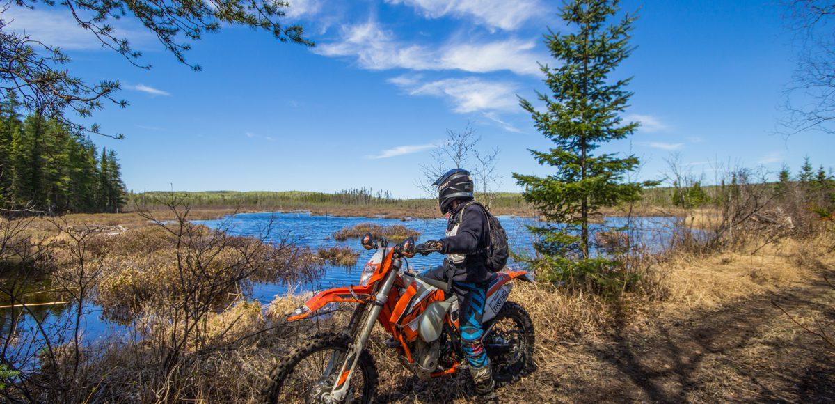 Raid Amisk moto trail enduro KTM